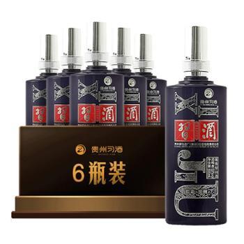 习酒53度印象贵州酱香白酒500mlX6瓶白酒贵州茶酒