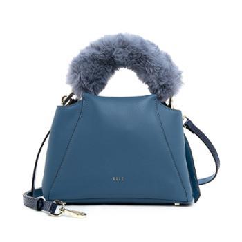 ELLE女包92073单肩斜挎手提包质感软皮通勤包