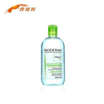 法国Bioderma贝德玛净妍控油卸妆水蓝水500ml深层清洁保湿洁面卸妆液