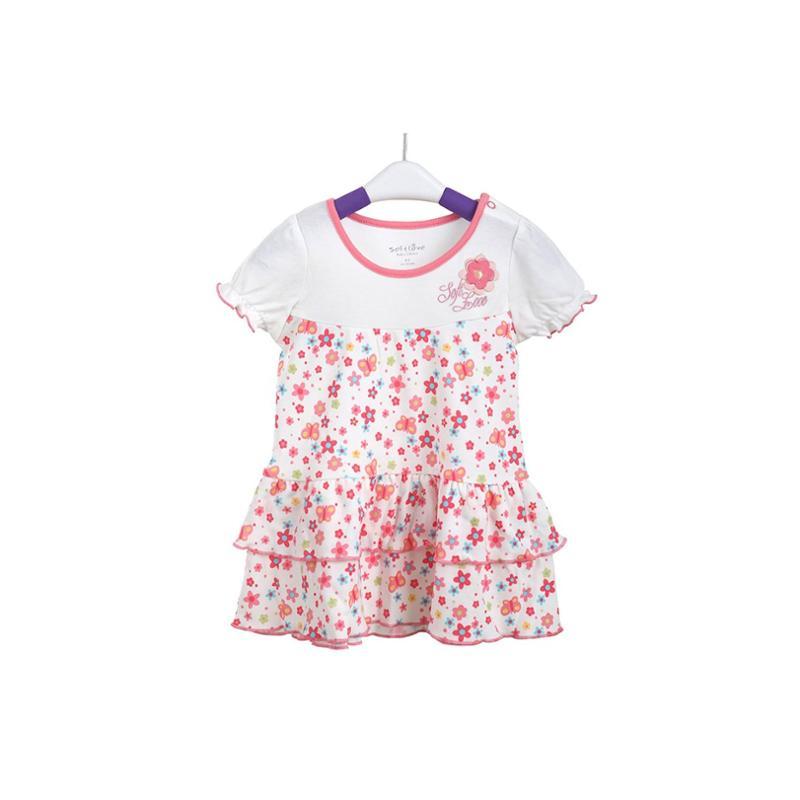 一岁女宝宝夏装公主连衣裙子
