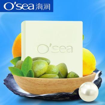 海润椰油手工皂115g 冷制精油材料椰子油洁面皂香皂男女士洗脸皂