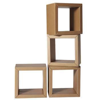 瓦楞纸板椅子手绘图三视图