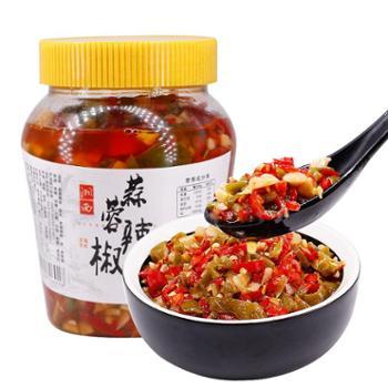吊角楼 蒜蓉辣椒480克/瓶 开味下饭菜
