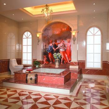 蒙娜丽莎瓷砖 80*80 土耳其玫瑰米黄 西班牙珊瑚红