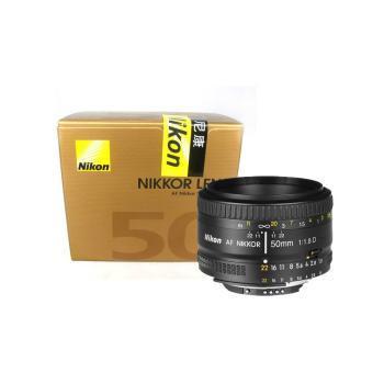 NIKON尼康50 1.8D 单反镜头 AF 50mm f/1.8D 标准定焦镜头 人像镜头