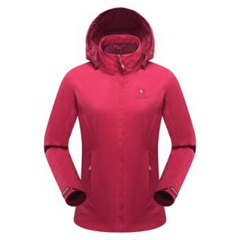 BLACKYAK布来亚克户外女冲锋衣两件套保暖三合一夹克外套FZW622
