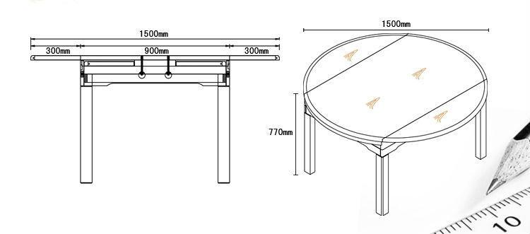 餐桌椅组合餐ps-ct