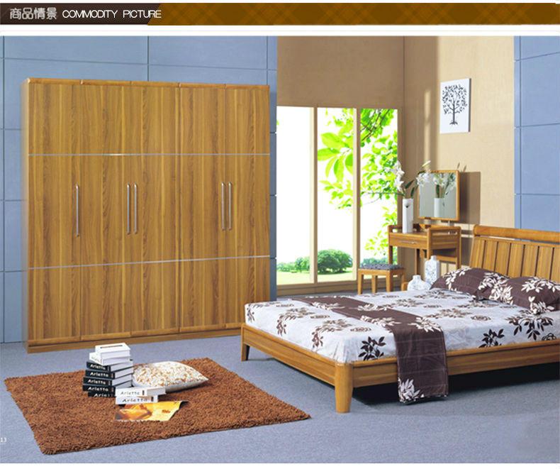 卧室带衣柜结构效果图