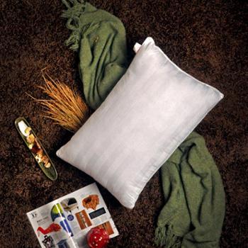 520家纺床上用品枕头抱枕适用双人床单人床床品四件套珍珠棉枕头芯Slender舒适枕48n*74m