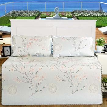 520家纺加厚可折叠夏凉冰丝席三件套一剪梅1.5米床