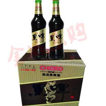 湖北荆门特产 英博金龙泉黑啤388ml*12 国产黑啤酒(金城大厦)