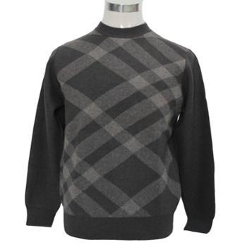 雪舟2014男士新款牦牛绒圆领套头衫加厚保暖柔软顺丰包邮