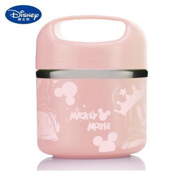 迪士尼不锈钢单层保温手提餐桶饭盒630mLDSM-CF086