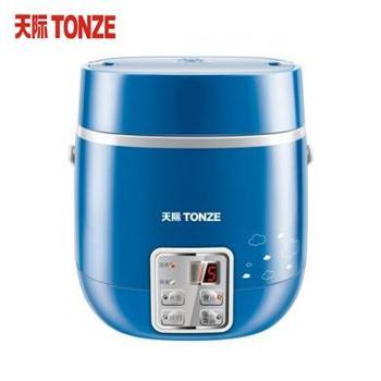 天际/Tonze FD10E 1L 迷你便携式陶瓷电饭锅(1L 请注意尺寸 购买慎重)