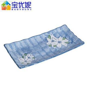 宝优妮 DQ9127-7家用手绘创意陶瓷冷菜盘