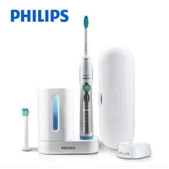 飞利浦(PHILIPS) HX6972/10电动牙刷 充电式成人声波震动牙刷 带消毒器 5种刷牙模式