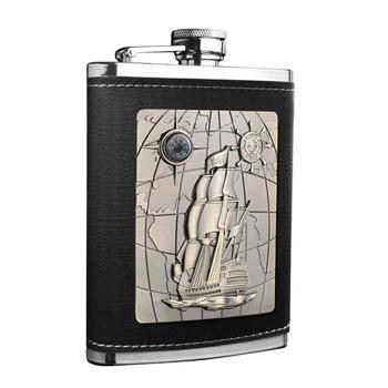 萨博尔LS-413精品不锈钢酒壶