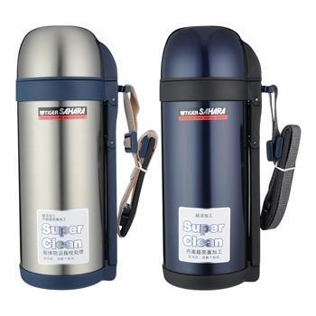 虎牌 CWO-C150保温壶 304不锈钢 1500ml 大容量储水保温壶 旅行壶