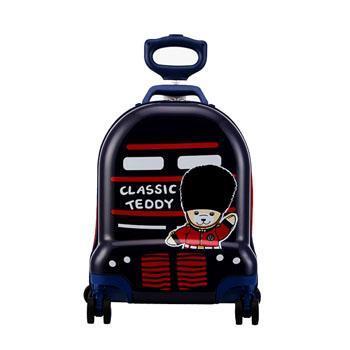外交官Diplomat TT-1708 精典泰迪 时尚可爱 儿童休闲拉杆箱深蓝色