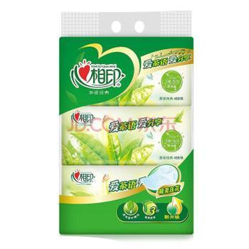 心相印 茶语系列3层152抽x3包/提面巾纸 2提售 DT3200*2
