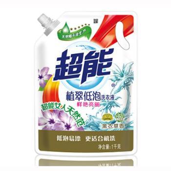 超能植翠洗衣液(鲜艳亮丽) 1kg 6910019011765