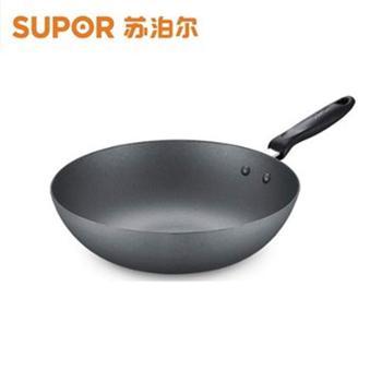 苏泊尔乐雅精铸铁炒锅30cm VC30EF01