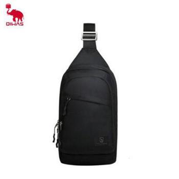 爱华仕休闲胸包 黑色/蓝色/玫红色 OCK5530