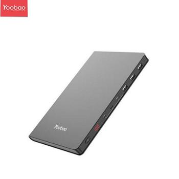 羽博 30Book PD双向快充+智能数显超薄大容量聚合物手机笔记本移动电源 30000毫安 30Book