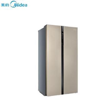 美的对开门家用风冷无霜电冰箱 芙蓉金 545L BCD-545WKM(Q)