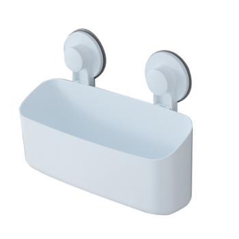 动动手浴室厨房置物篮吸壁式