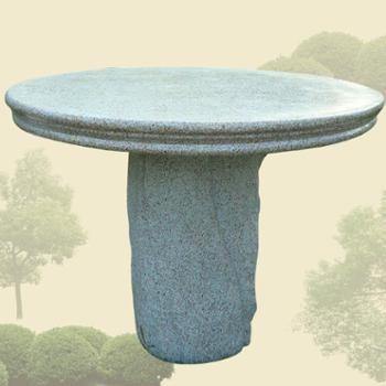 欧式花园石头圆桌公园客厅庭院休闲摆放家居装饰品环