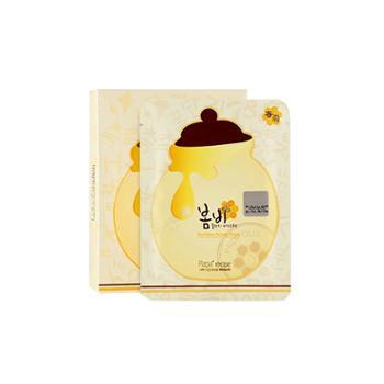 韩国原装进口paparecipe春雨蜂蜜面膜补水孕妇敏感肌可用