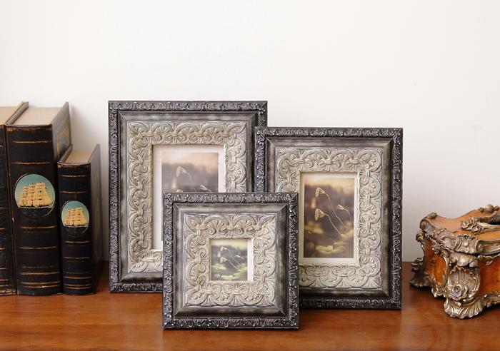 欧式相框奢华古典复古实木相框挂墙桌摆
