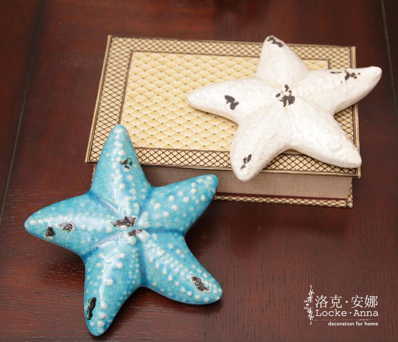 因为手工的缘故,每个海星的做旧的程度或者部位都因陶瓷师傅的手法有