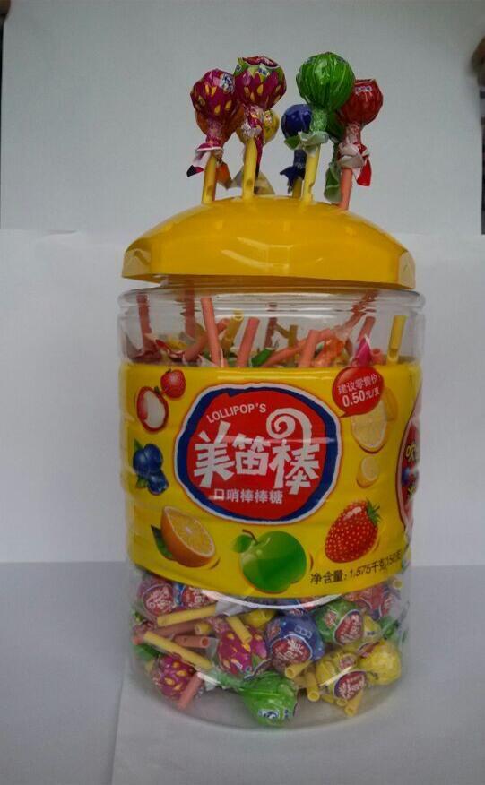 金箭 美迪棒棒糖 精装什锦水果味图片