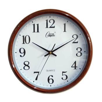 康巴丝 正品 石英钟 丽声机芯 时尚12寸 静音卧室客厅简约现代 挂钟