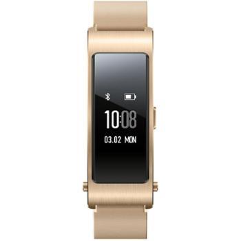 华为(HUAWEI)华为手环 B3 蓝牙耳机与智能手环结合+金属机身+触控屏幕