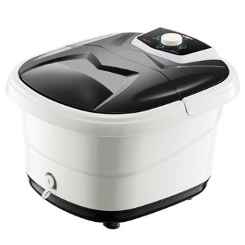 奥赛(AOSAI)手提足浴盆TH-680E3档旋钮12个滚轮气泡按摩