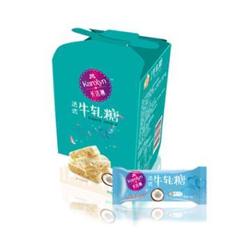 卡洛琳海藻糖制手工牛轧糖软糖椰子味120g纸盒装
