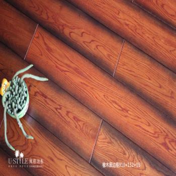 风格地板 实木地板 橡木
