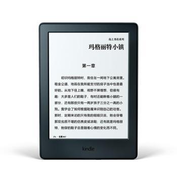 亚马逊 kindle 入门升级版6英寸电子书阅读器 wifi