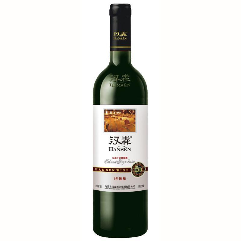 汉森红酒3年陈酿图片