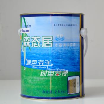 竹炭森态居全效木器清漆面漆半光(2.5kg)