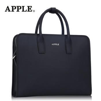Apple苹果商务牛皮手提包男包头层牛皮单肩包斜挎包公文包电脑包