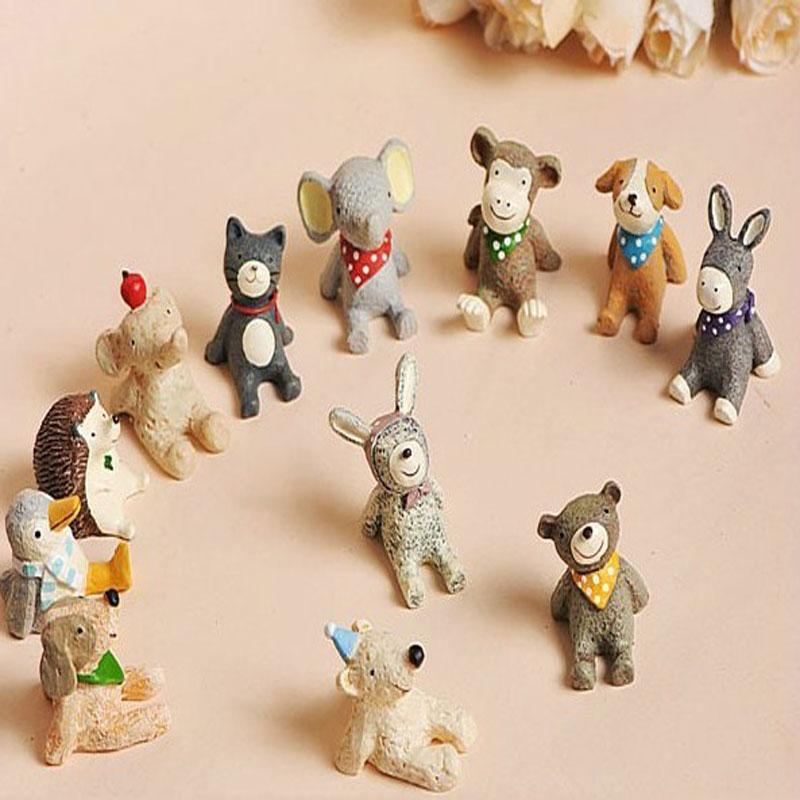 仰望天空星空15款小动物树脂工艺礼品