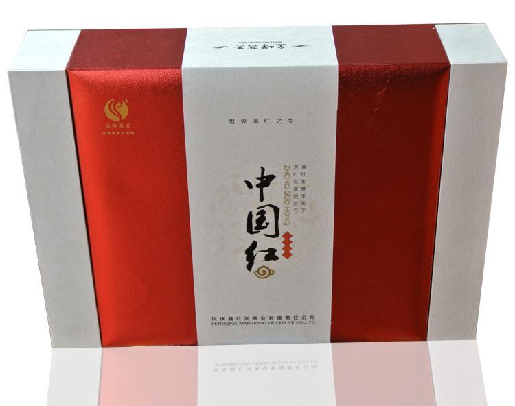 高档礼盒 滇红茶标杆产品 云南凤庆特级红茶 金峰悠茗 中国红200g