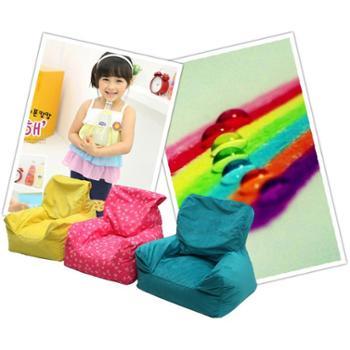 简易休闲布艺沙发儿童单人沙发绿色环保可拆洗