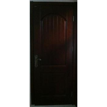实木烤漆门 橡木 ys-m01黑胡桃色