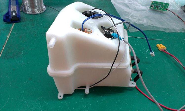 台湾吉田雅格智能马桶盖电脑洁身器通便型280b包邮