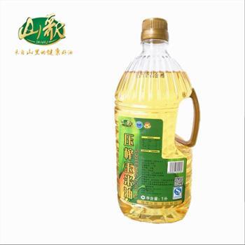 山歌1L非转基因压榨一级玉米油
